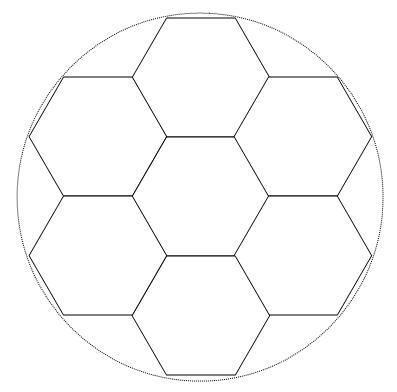 Gabarit ballon de foot - Ballon de foot a imprimer ...