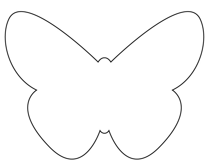 Gabarit papillons - Dessin papillon a decouper ...