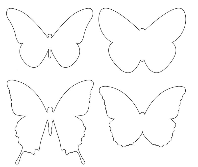 Gabarit papillons page 2 - Papillon imprimer ...
