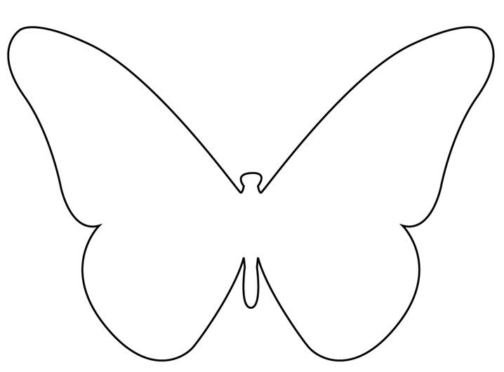 Gabarit papillons - Papillon dessin a imprimer ...
